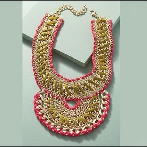 ANTHROPOLOGIE Adia Bib Necklace